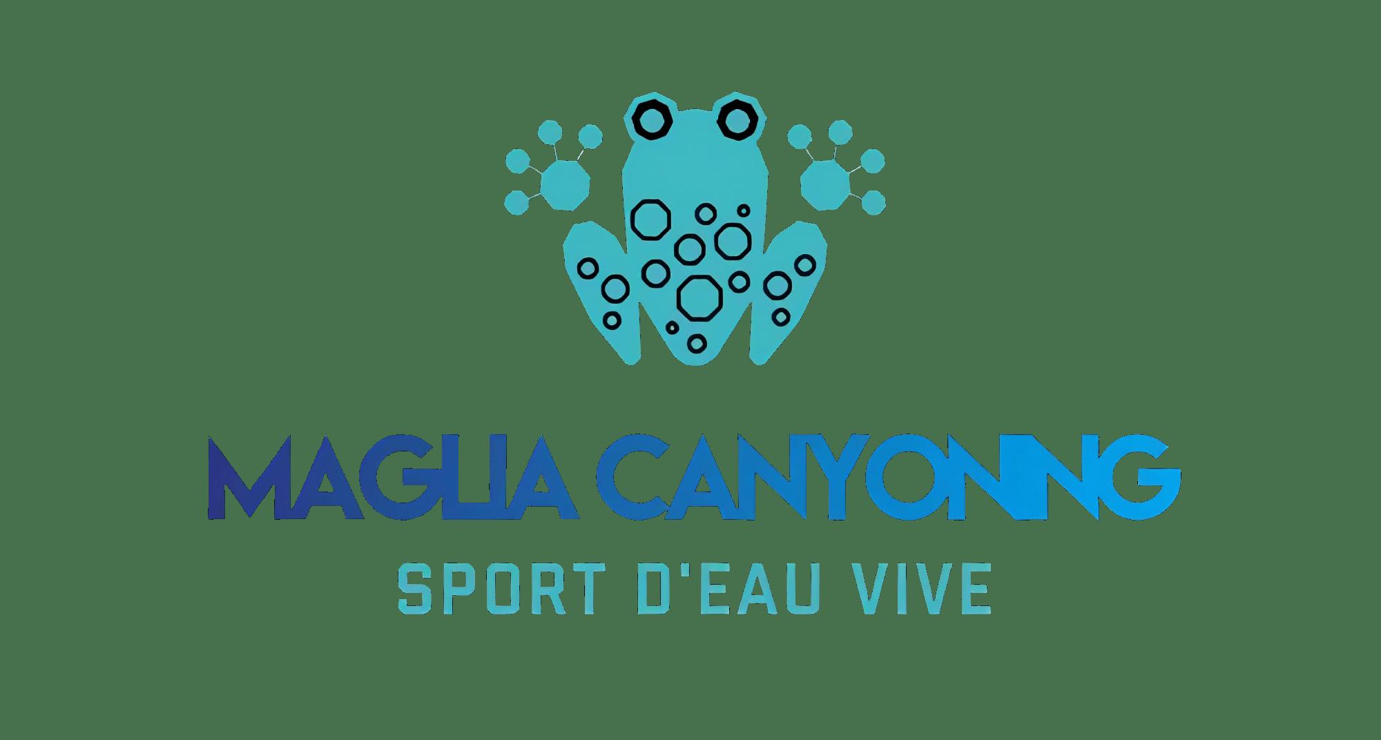 Logo du site maglia Canyoning sport d'eau vive
